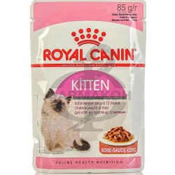 РОЯЛ КАНИН КОНСЕРВЫ Д/КОТЯТ КИТТЕН ИНСТИНКТИВ В/У 85ГР. В СОУСЕ [ROYAL CANIN]